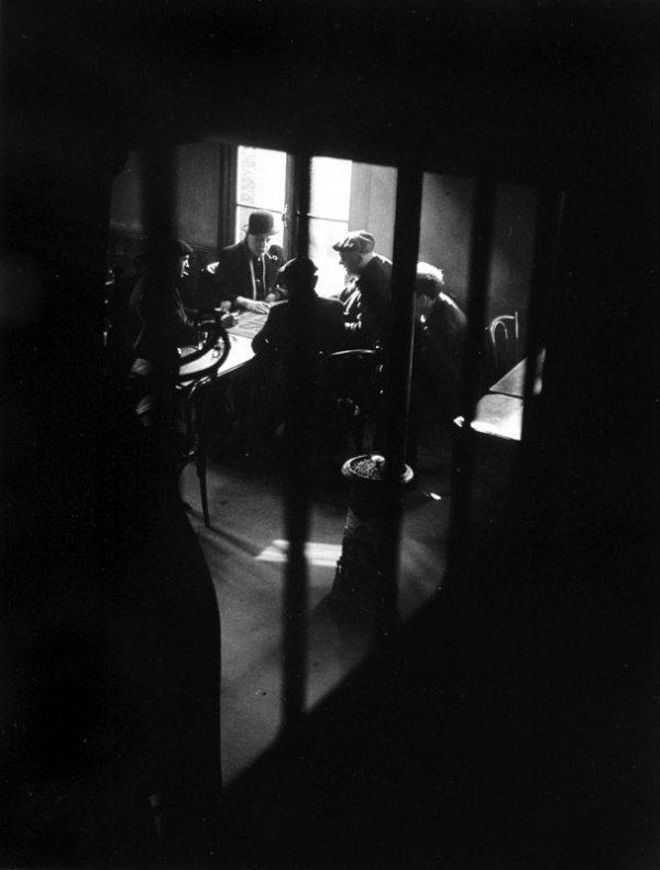 """1024:  """"Willy RONIS (Né en 1910) 6209Café rue des Casca"""