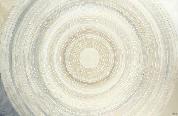 "1250:  ""Sayed Haider RAZA (1922)Sheveta.Acrylique sur t"