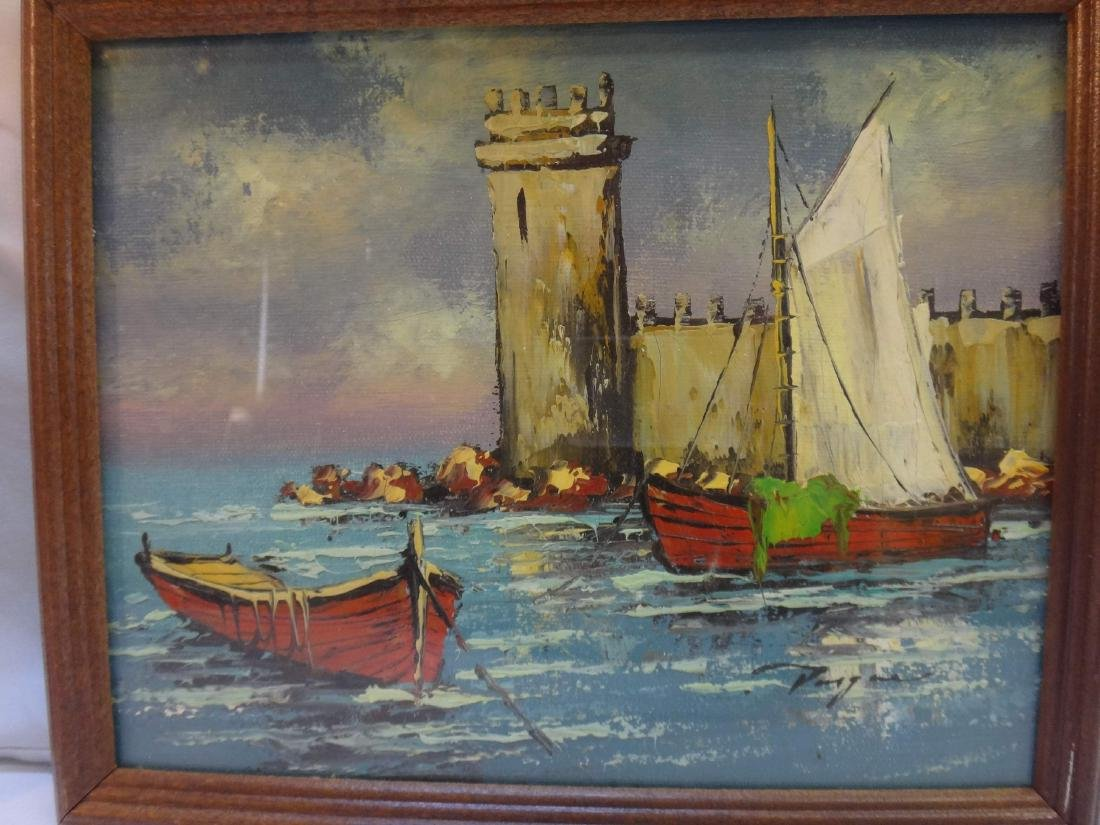 3 PC, OIL ON CANVAS, SIGNED VARGAS, - 9