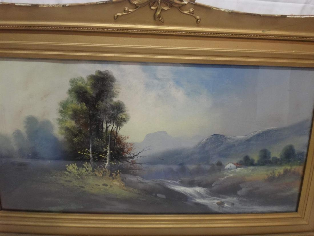 WILLIAM CNADLER PASTEL LANDSCAPE - 2