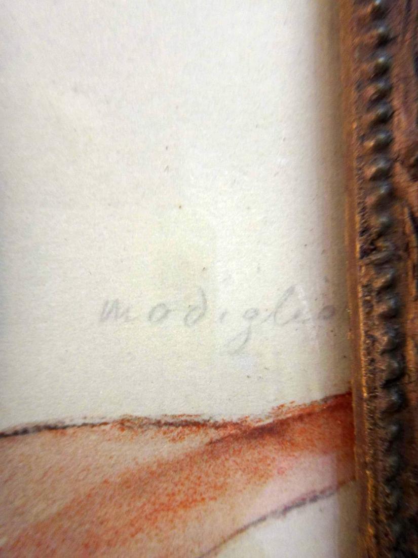 AMEDEO MODIGLIANI, PENCIL SIGNED, PLATE #516 - 2