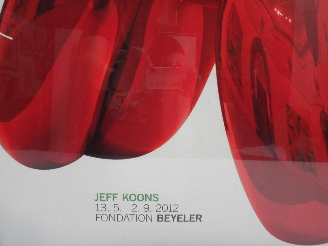 """JEFF KOONS, """"BALLOON DOG"""" , LITHO - 2"""