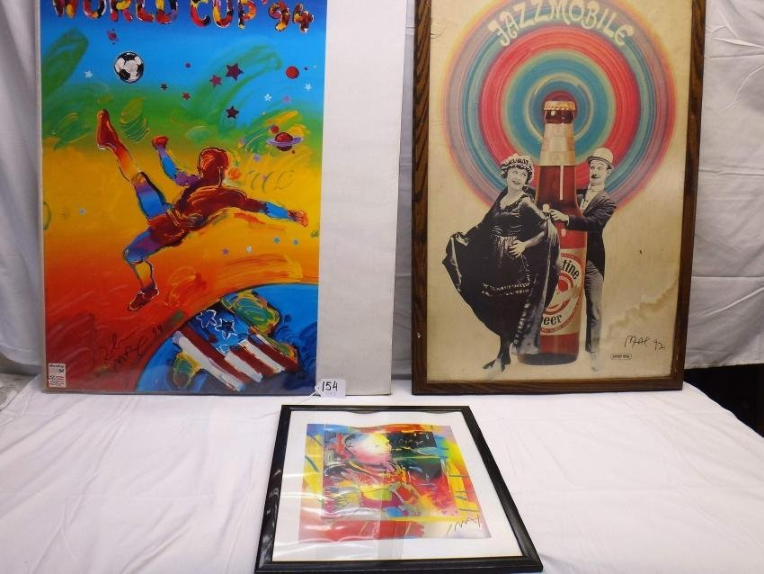 PETER MAX SIGNED ART