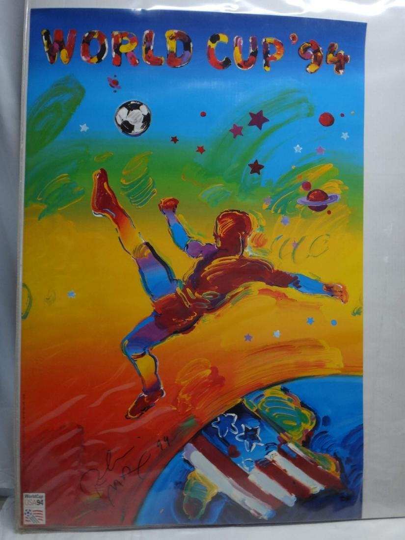 PETER MAX SIGNED ART - 3