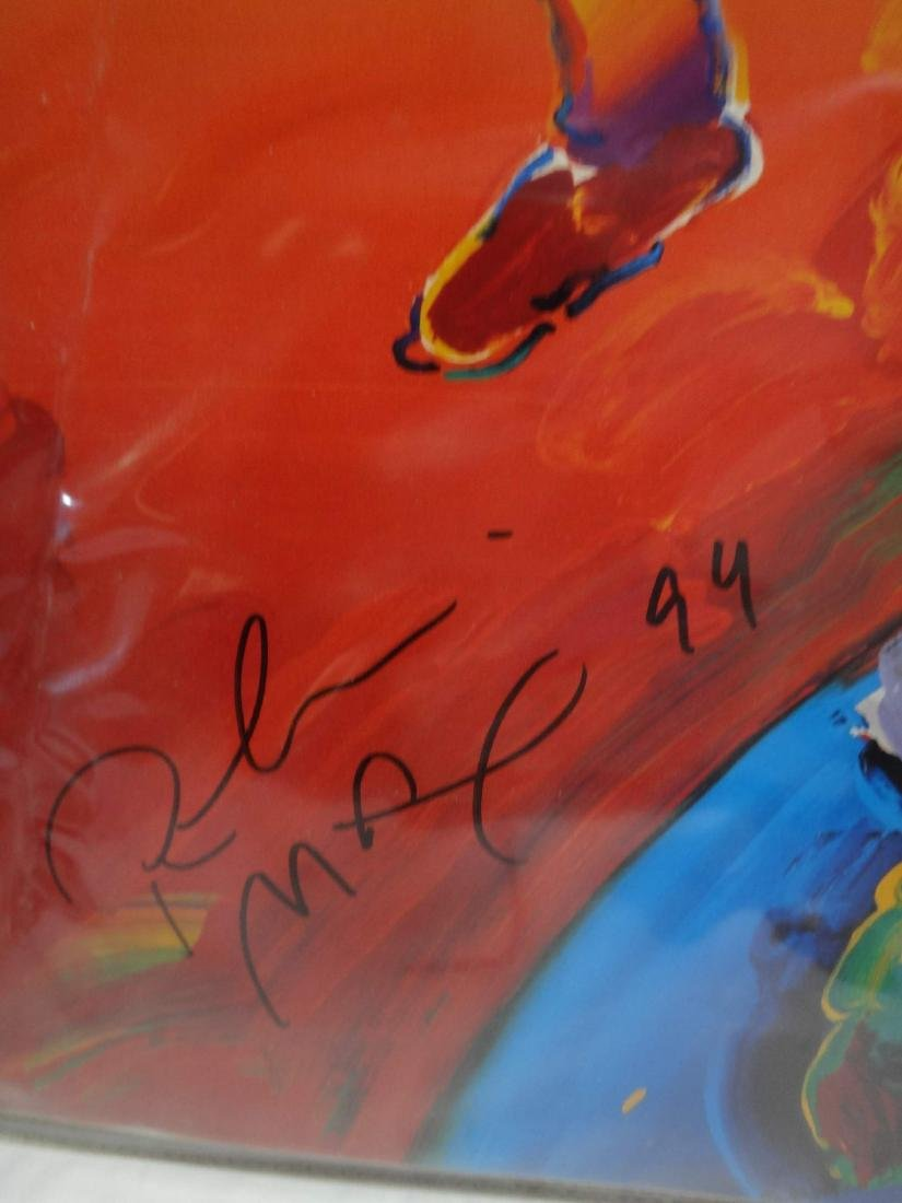 PETER MAX SIGNED ART - 4
