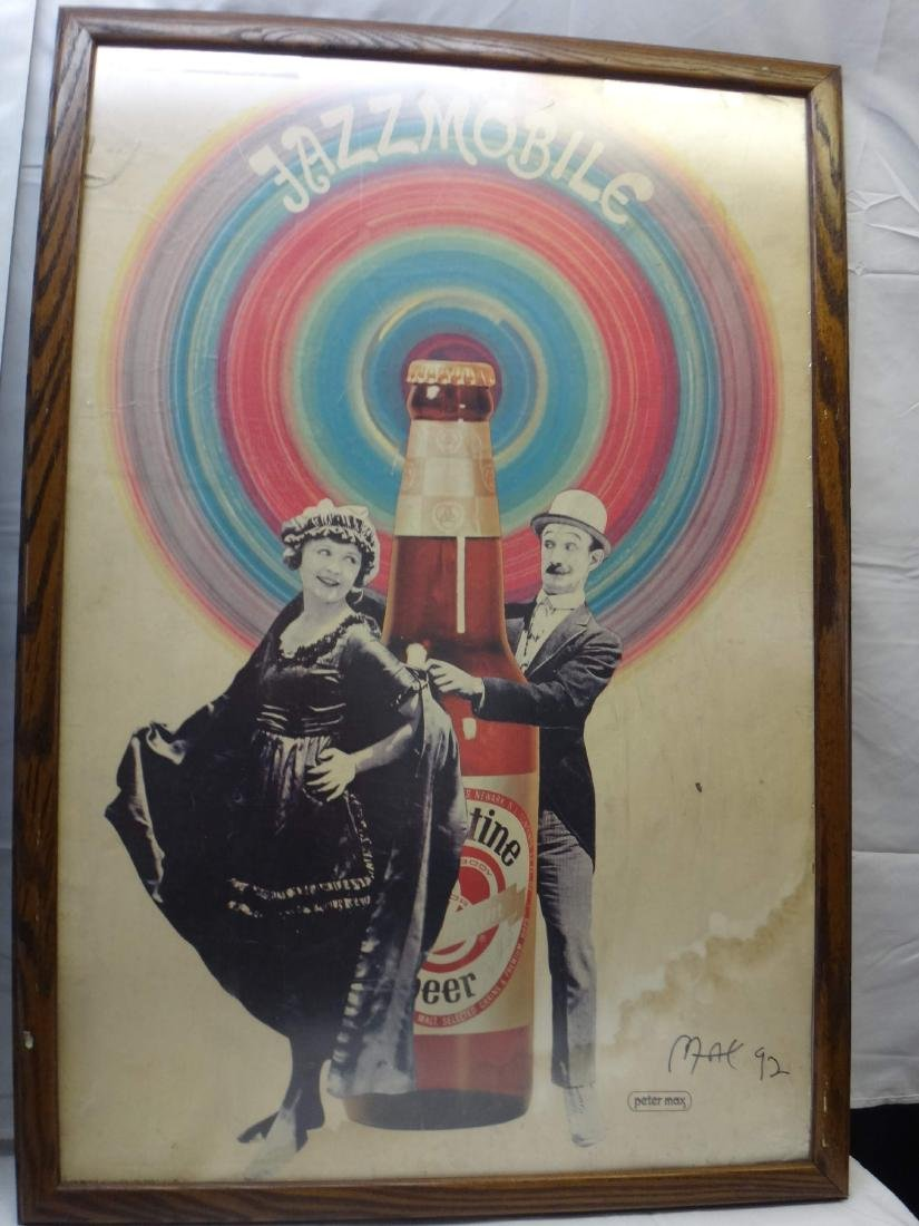 PETER MAX SIGNED ART - 5
