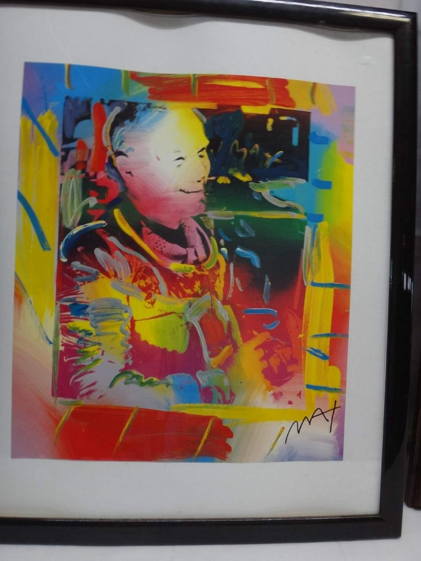 PETER MAX SIGNED ART - 7