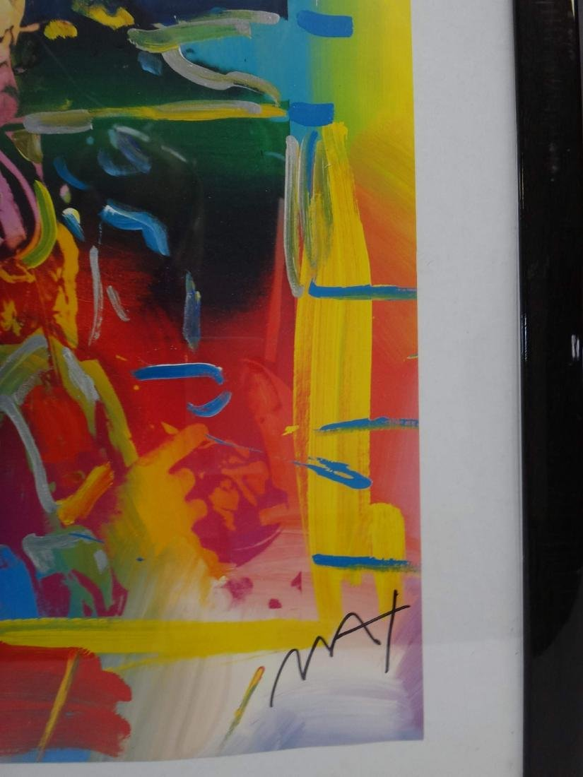 PETER MAX SIGNED ART - 8