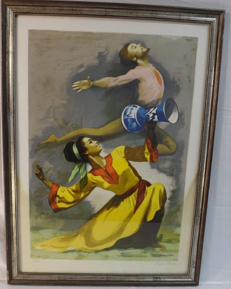"SANDO LIERBEMAN ""LEAPING DANCERS"""