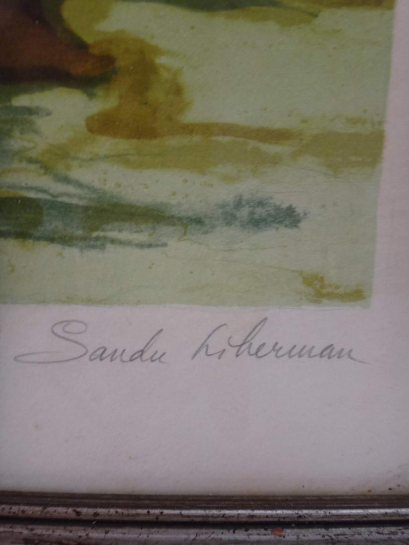 "SANDO LIERBEMAN ""LEAPING DANCERS"" - 3"