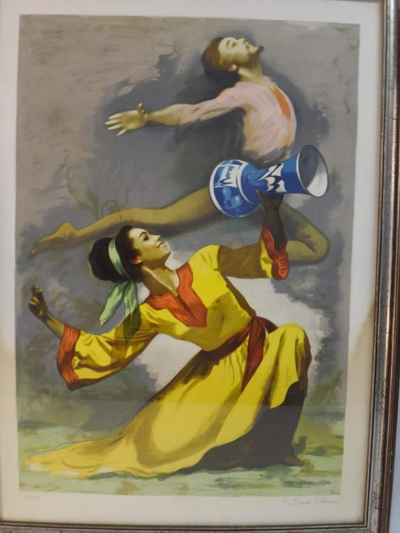 "SANDO LIERBEMAN ""LEAPING DANCERS"" - 5"