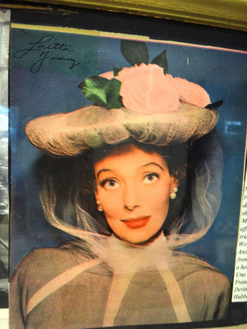 LOT OF 2. LORETTA YOUNG & KAY FRANCIS COLLAGES - 6