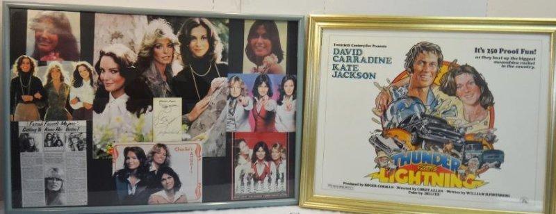 CHARLIE'S ANGEL'S KATE JACKSON SIGNED CARD
