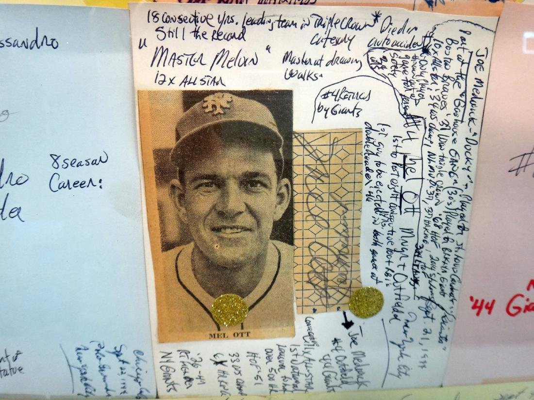 COLLECTION OF MLB AUTOGRAPHS FROM 1944, CHICAGO/NY - 6