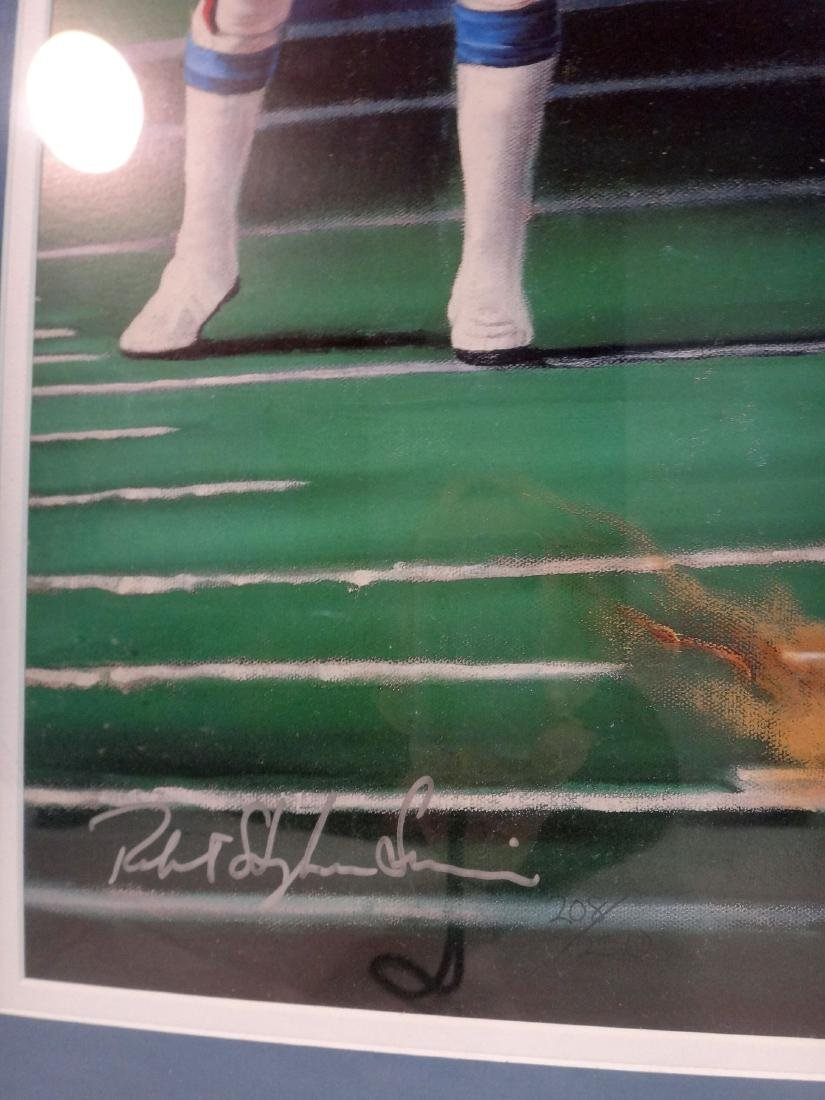 LAWRENCE TAYLOR/JOE THEISMAN SIGNED LITHO & PHOTO - 4