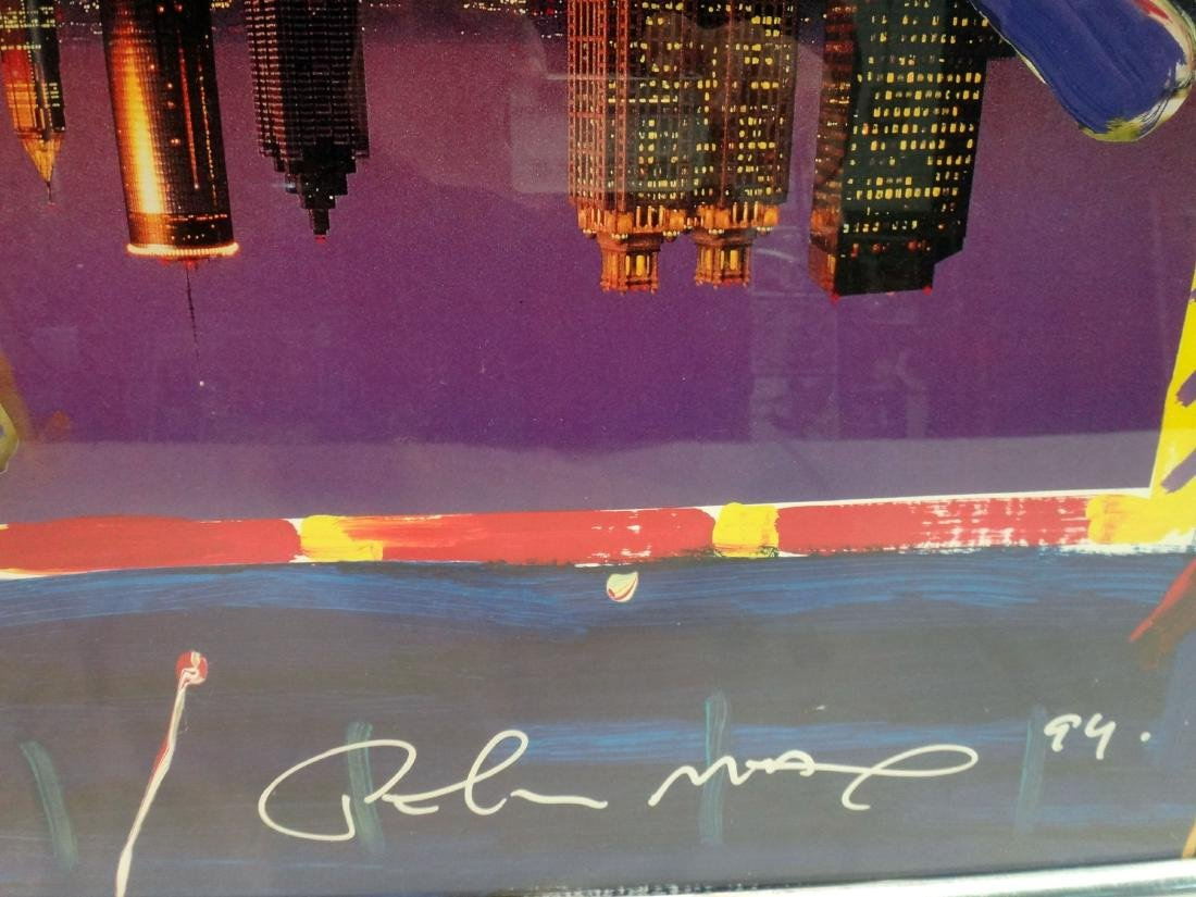 PETER MAX'S SIGNED SUPERBOWL 28 LITHO - 5
