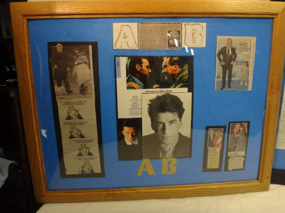 ALEC BALDWIN, ROBIN WILLIAMS & NICHOLAS CAGE  SIGNED - 2