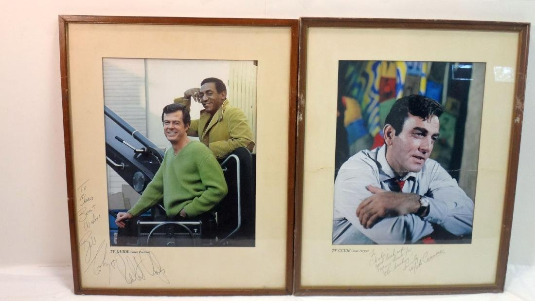 MIKE CONNOR'S/ ROBERT CULP/BILL COSBY SIGNED TV GUIDE