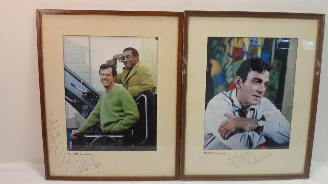 MIKE CONNOR'S/ ROBERT CULP/BILL COSBY SIGNED TV GUIDE - 2