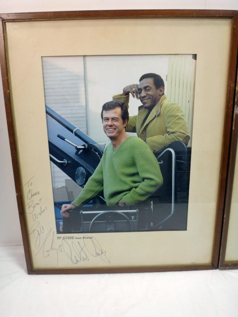 MIKE CONNOR'S/ ROBERT CULP/BILL COSBY SIGNED TV GUIDE - 3