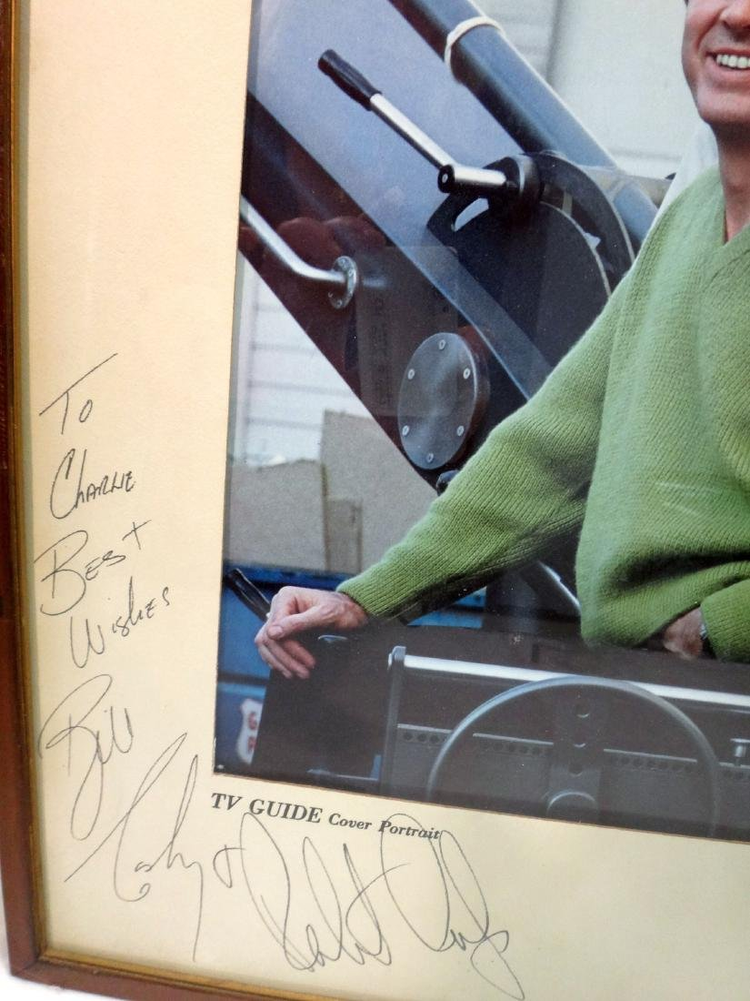 MIKE CONNOR'S/ ROBERT CULP/BILL COSBY SIGNED TV GUIDE - 4