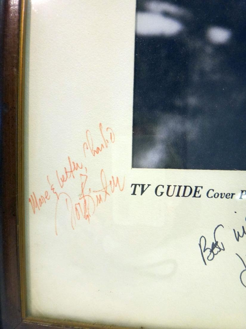 SIGNED TV GUIDE COVER/CAST OF CINNAMON STRIP TV SHOW - 7