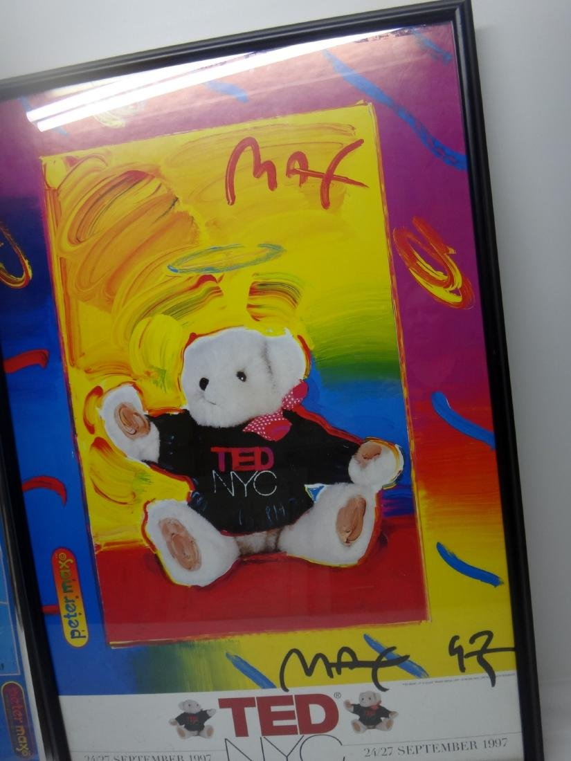 PETER MAX SIGNED POSTERS. - 4