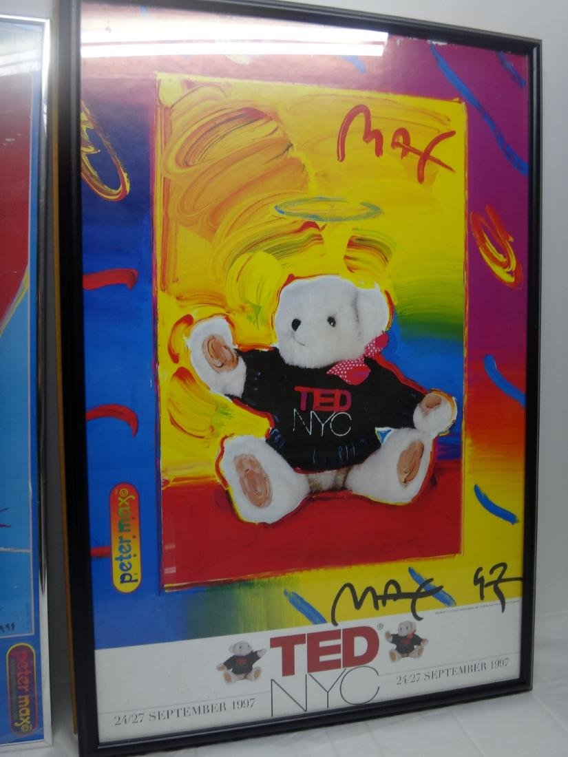 PETER MAX SIGNED POSTERS. - 5