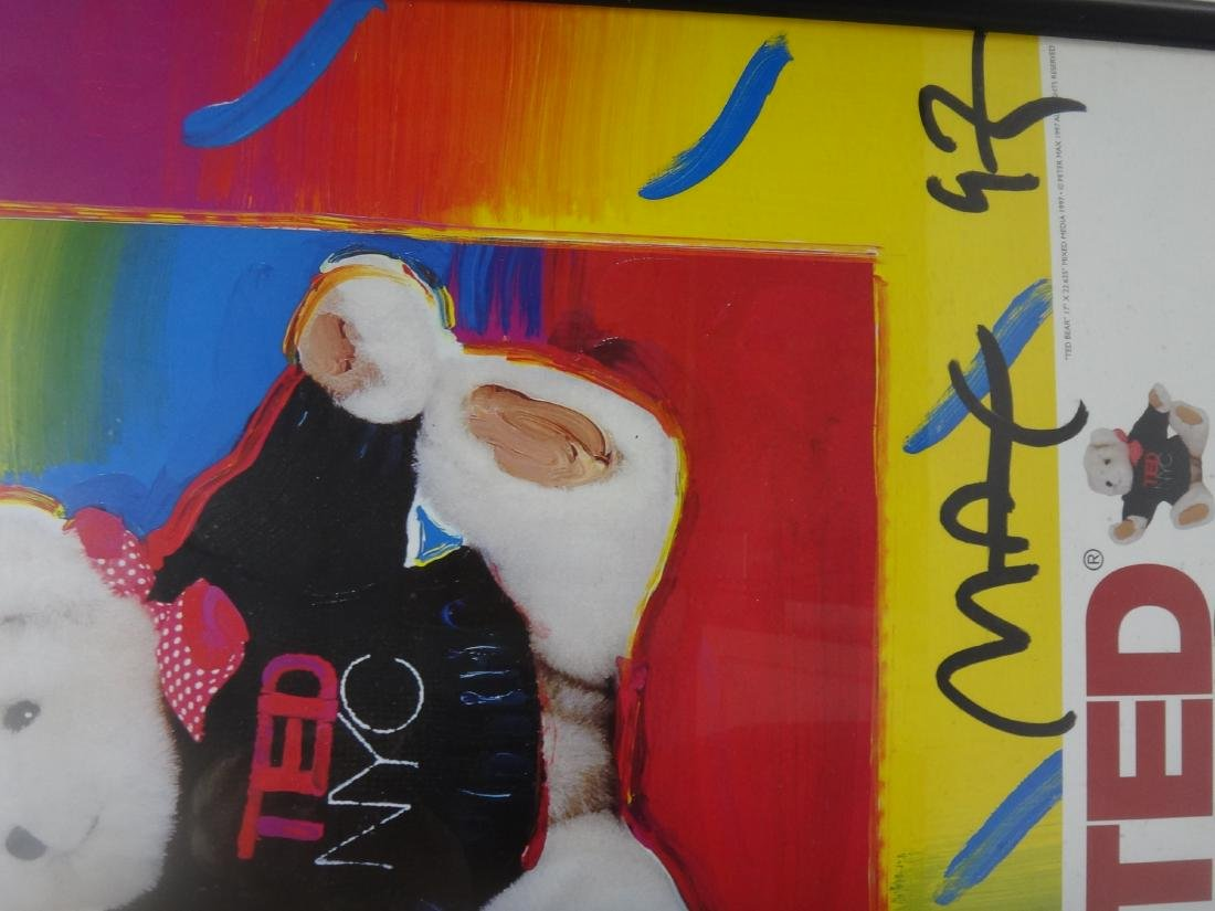 PETER MAX SIGNED POSTERS. - 6