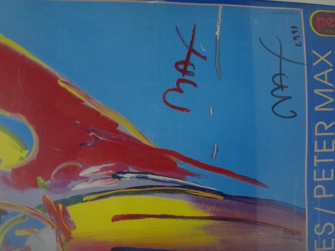 PETER MAX SIGNED POSTERS. - 8