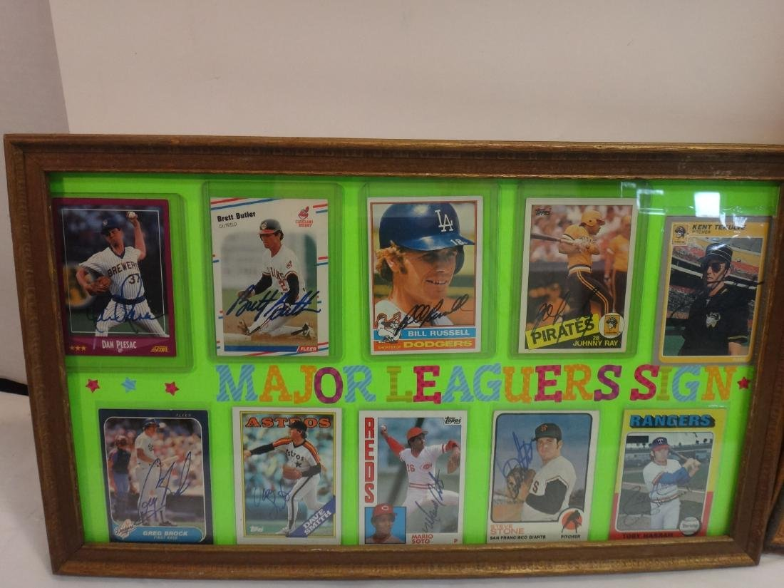 SIGNED MLB PHOTOS; PAO CLAYERS & BALTIMORE ORIOLES. - 10