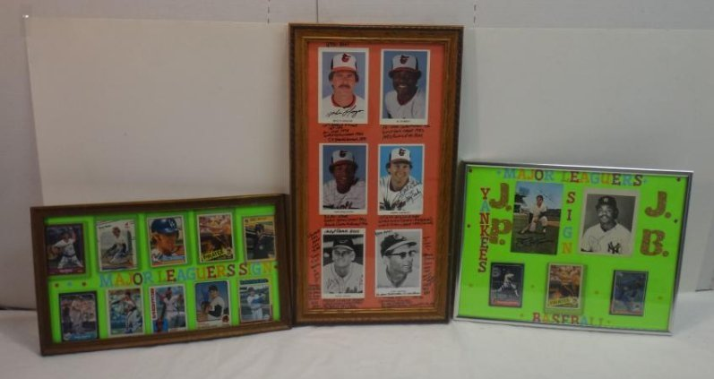SIGNED MLB PHOTOS; PAO CLAYERS & BALTIMORE ORIOLES. - 2