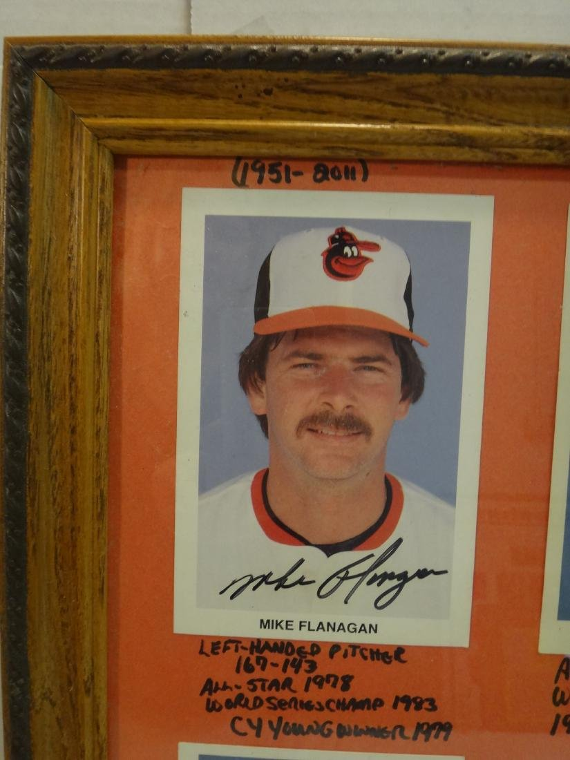 SIGNED MLB PHOTOS; PAO CLAYERS & BALTIMORE ORIOLES. - 4