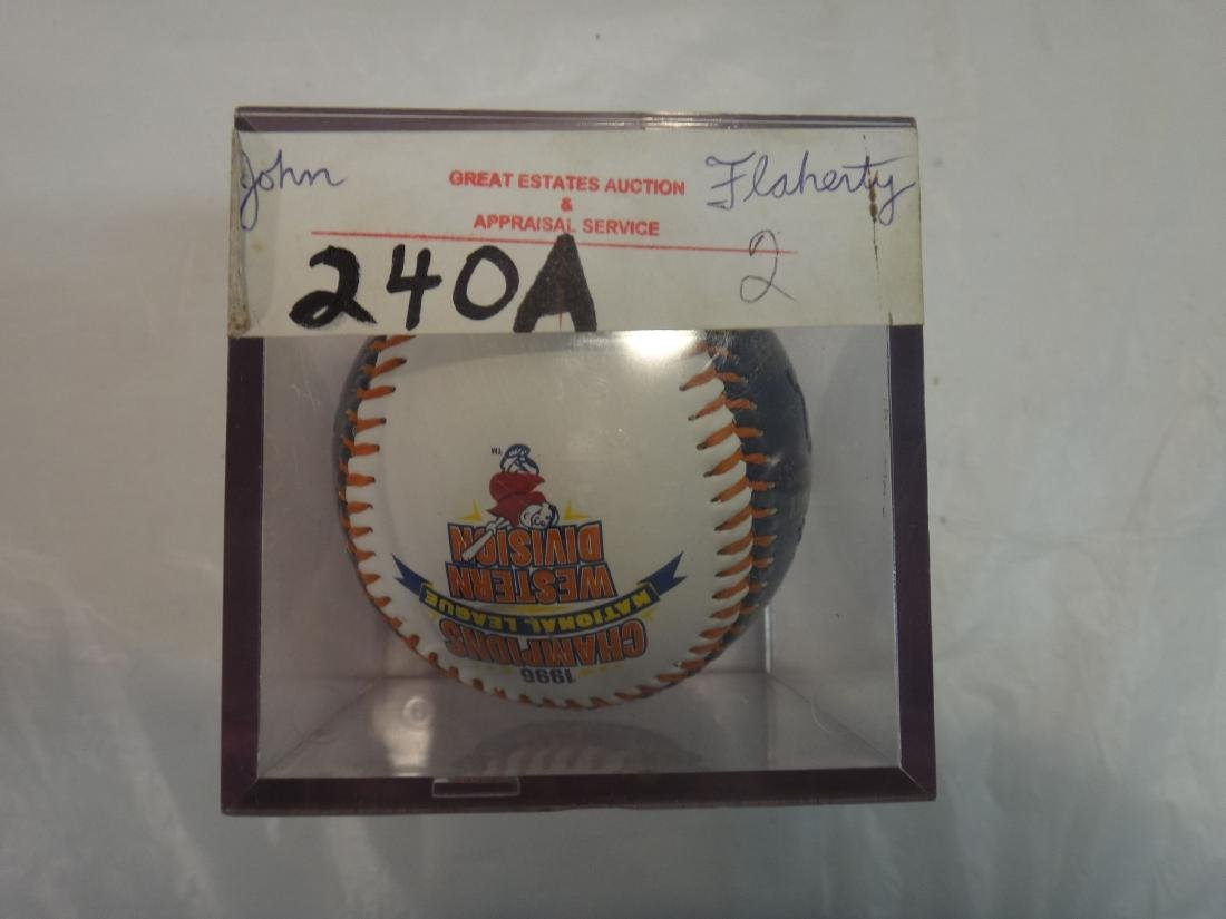 JOHN FLAHERTY/NATE COLBERT/ RON LEFLORE SIGNED - 10