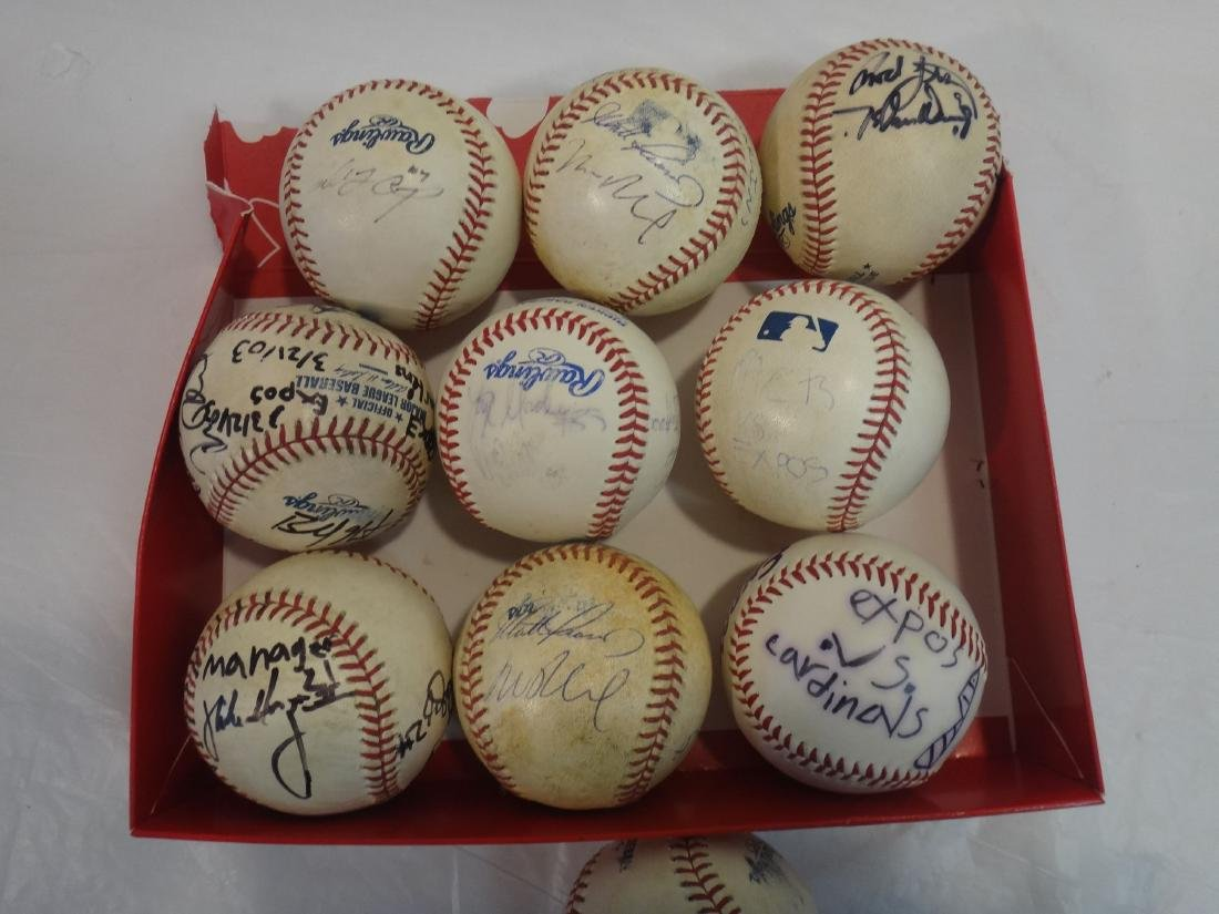 8 SIGNED BALLS OF METS, EXPOS, MARLINS, ETC. - 3