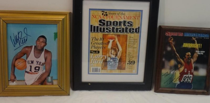 BASKETBALL HOFERS SIGNED OLYMPIC GOLD