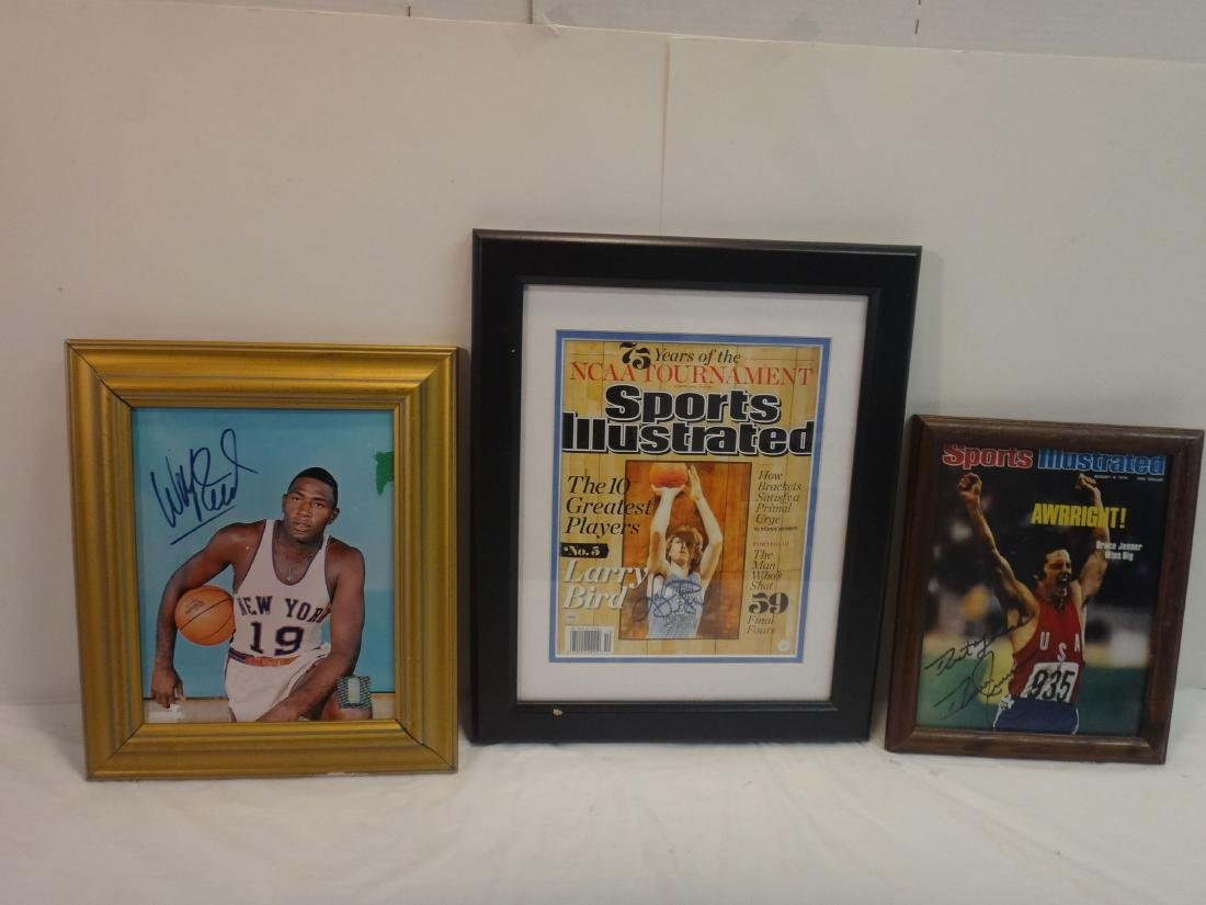 BASKETBALL HOFERS SIGNED OLYMPIC GOLD - 2