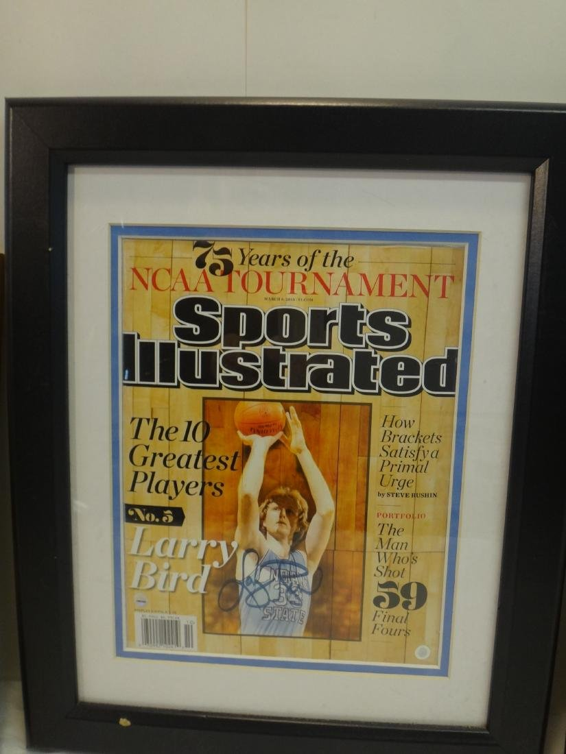 BASKETBALL HOFERS SIGNED OLYMPIC GOLD - 4