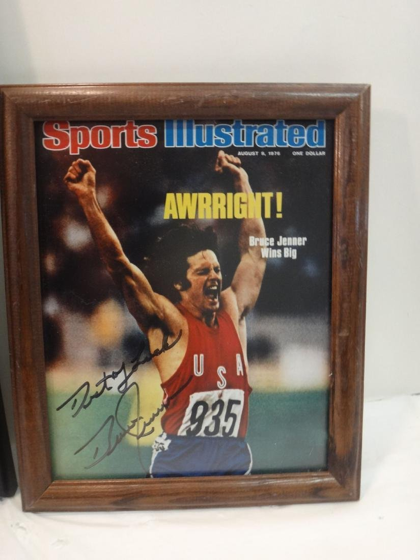 BASKETBALL HOFERS SIGNED OLYMPIC GOLD - 5