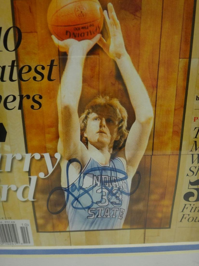 BASKETBALL HOFERS SIGNED OLYMPIC GOLD - 6
