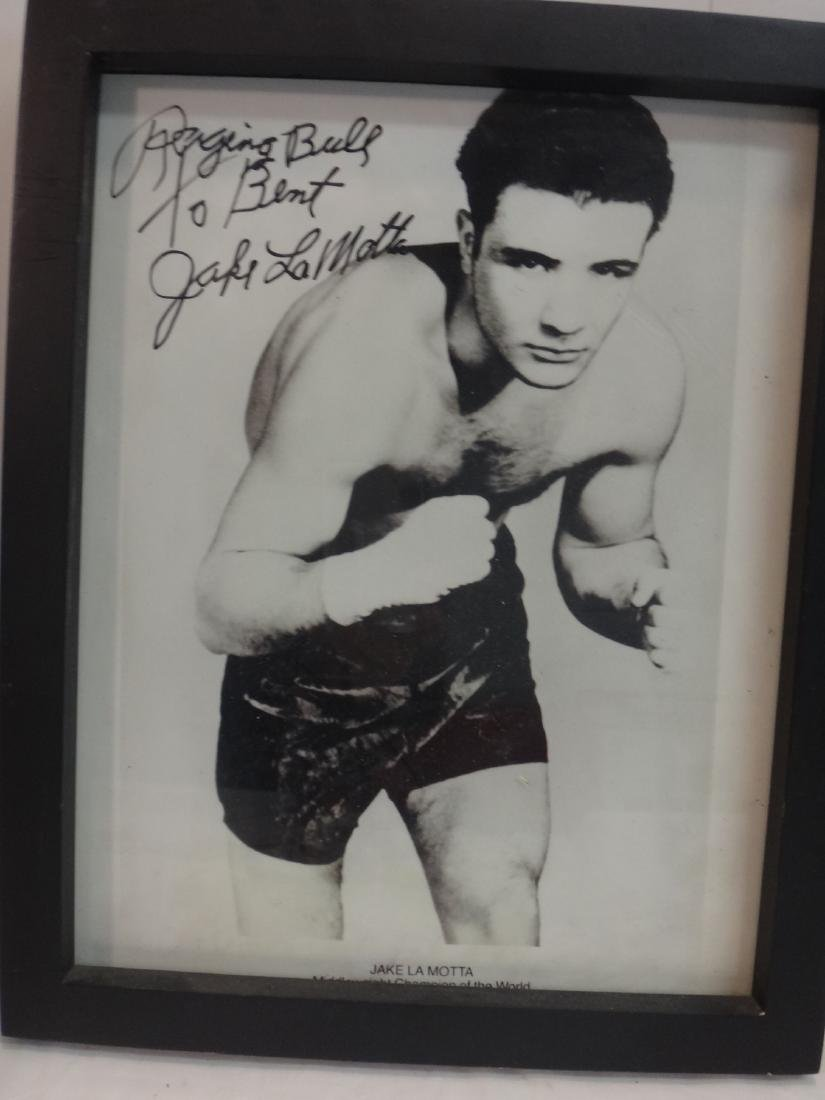 CHAMPION BOXERS, SIGNED. PHOTOS - 2
