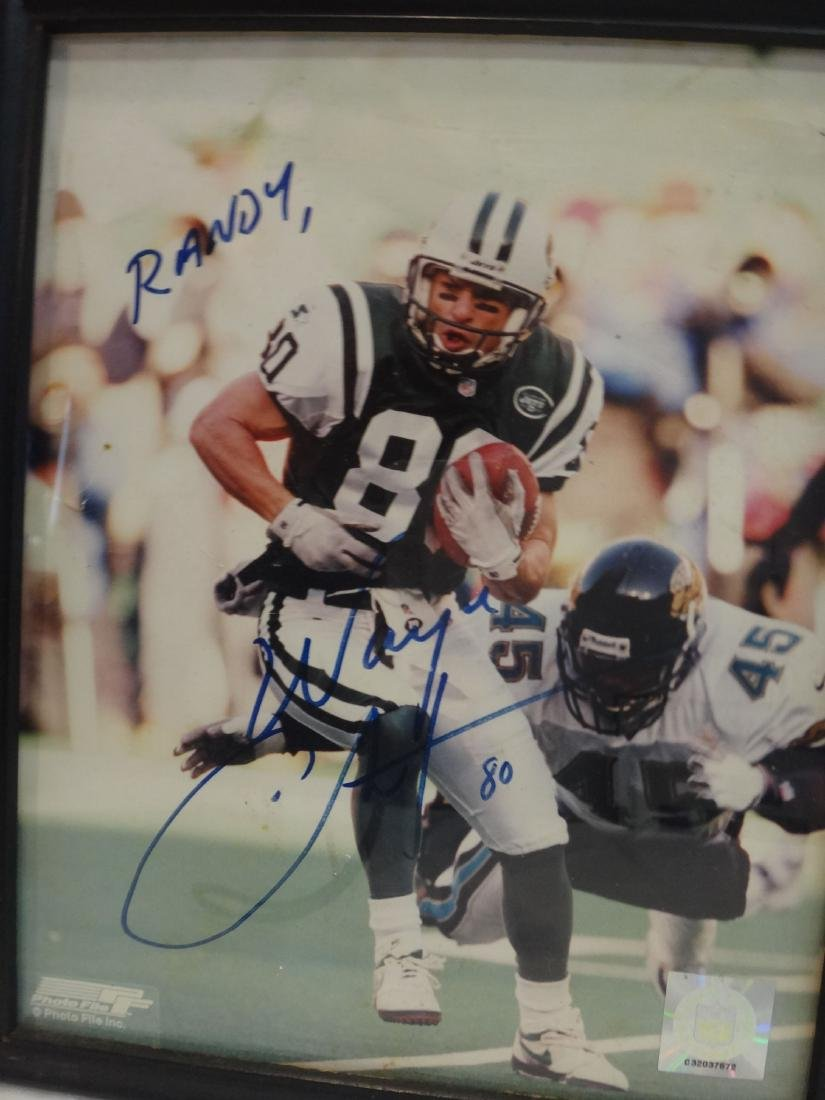 FOOTBALL PLAYERS SIGNED LOT - 7
