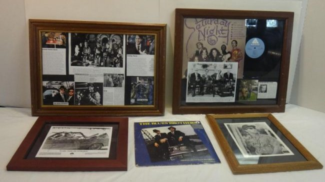 SNL LEGENDS CHEVY CHASE, JOHN CANDY, & OTHERS SIGNED