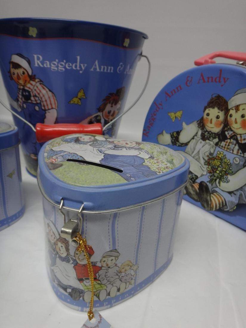 RAGGEDY ANN TIN LOT - 2