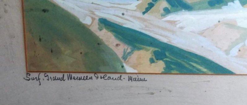 M.A.K FIELDSBERG, 1896 (DECEASED,) FINE OIL PAINTING, - 3