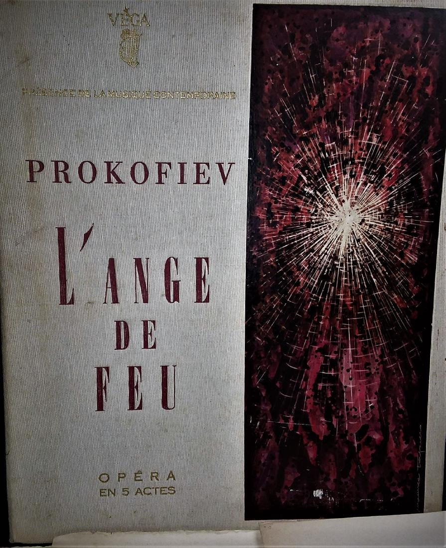 CASED PRESENTATION OPERA, L'ANG DE FEAU, PROKOFIEV - 2