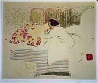 A FINE LITHOGRAPH, EDOUARD VUILLARD , 1868-1940