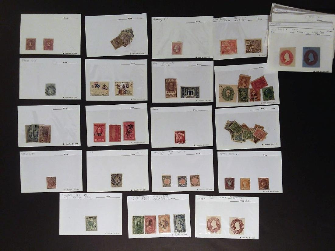 RARE EARLY FOREIGN STAMP COLLECTOR LOT