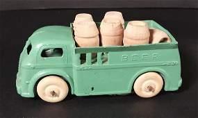 Vintage Die Cast Toy BEER Truck Barclay