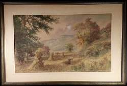 NELSON BOWDISH SIGNED WC, (American 1831-1916)